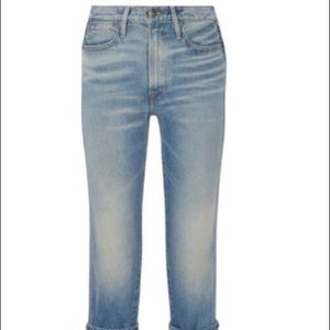 Frame Re-release Rigid Le High Straight Jeans